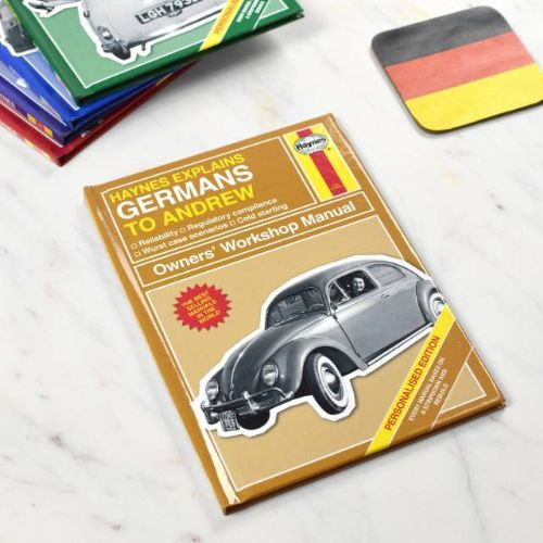 Personalised Haynes Explains Germans